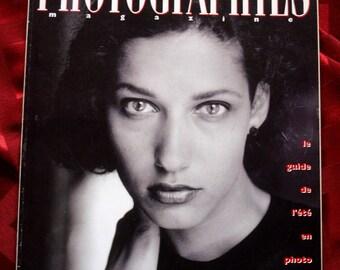 Photographies Magazine 1992 les Rencontres Kertesz Vallhonrat Carez Castella Sunami Monroe McCullin Hulton Deutsch Camera Photography French