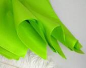 "Lime Green Tissue Paper BRIGHT Tissue Sheets   Gift Wrap   20"" X 30""   Favor Bag Filler    Pom Flower Supply   24 sheets"