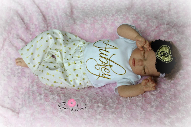 Personalized baby girl clothes newborn girl take by sassylocks