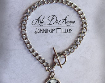 Jack Skellington Charm Bracelet