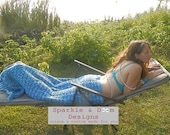 Mermaidtail Blanket, Made to Order