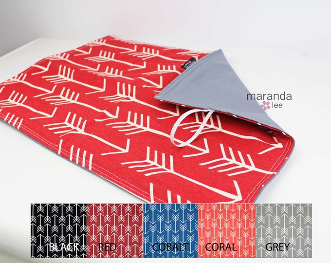 Changing Mat Pad- Arrow U CHOOSE with CUSTOM Accent-  Arrows Archery Baby Padded Mat