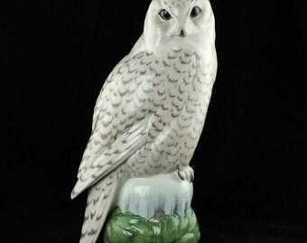 Vintage Royal Copenhagen Snowy Owl - Peter Herold #1829