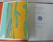 vintage book, In Transit 1965-1973, written and printed by Margaret Agnew Kritselis, Alexander Kritselis,from Diz Has Neat Stuff