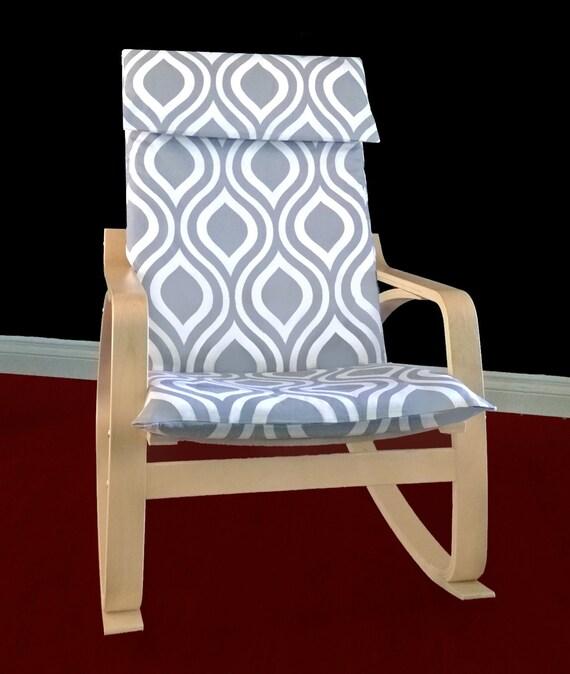 Ikea Algot Wall Upright Shelves ~ IKEA POÄNG Cushion Slipcover Emily Grey by RockinCushions on Etsy