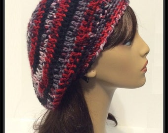 Crocheted Slouchy Beanie!  Ready to Ship!