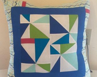 MOD Pinwheels Pillow