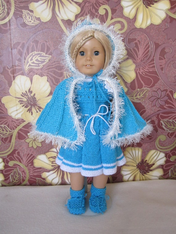 Knitting Patterns For Our Generation Dolls : Knitted American girl doll set...our generation 18 inches