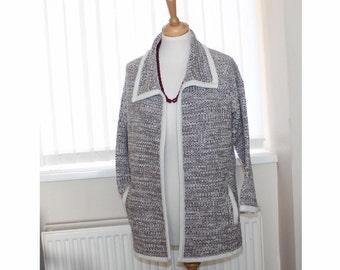 Vintage Marks and Specncer cardigan jacket. Slouch cardigan. Medium size