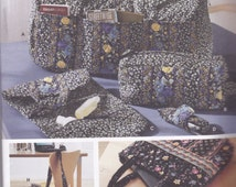 Duffle Bag, Tote and Organizers Pattern Simplicity 5025 Uncut