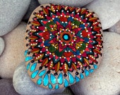 rain dance / mandalas / painted rocks / painted stones / Sandi Pike Foundas / Cape Cod / sea stones