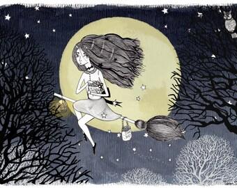 Stardust - Illustration by: Taren S. Black
