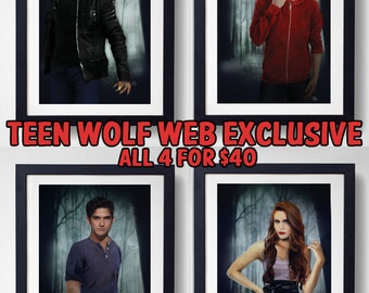 ONLINE EXCLUSIVE - Limited Run Teen Wolf prints