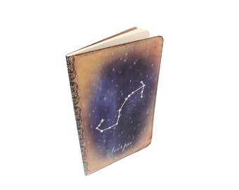 Zodiac Constellation Journal - Scorpio - Zodiac Notebook - Astronomy - Horoscope - Astrology - Universe - Galaxy - Stars Journal