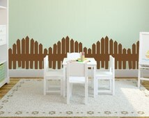 Popular Items For Picket Fence Decal On Etsy