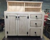 Sideboard, Buffet, FREE SHIPPING, Country, Shabby, Chic, Distressed
