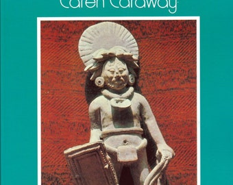 The Myan Design Book By Caren Caraway - The International Design Library - Painting - Art - Textiles - Jewelry - Ceramics - Carving