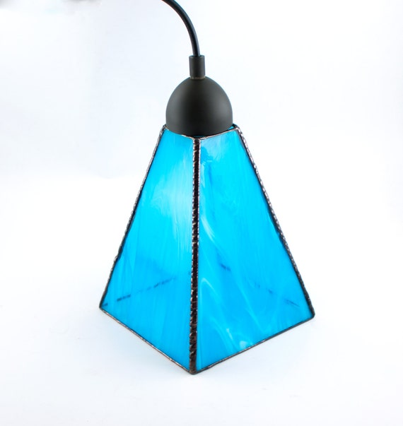 aqua blue glass pendant lighting unique hanging lamp kitchen 87867