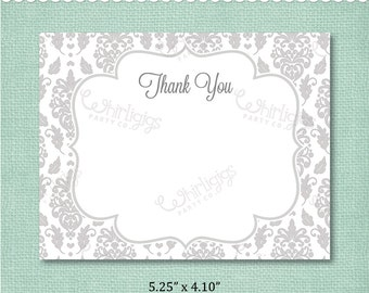 Thank You Note INSTANT DOWNLOAD d.i.y. Printable PDF