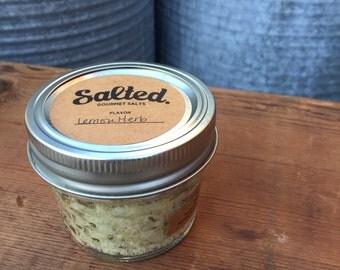 Organic Lemon Herb Cooking Salt