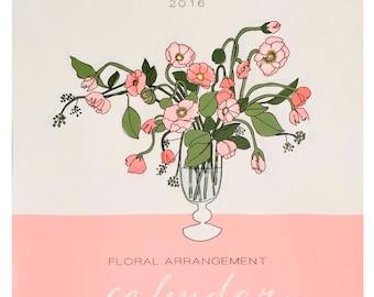 2016 Floral Arrangement Calendar