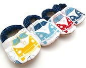 volkswagen baby shoes hippie baby road trip tula booties soft soles shoes hippie van vegan baby shoes VW baby clothes hippie shoes for baby