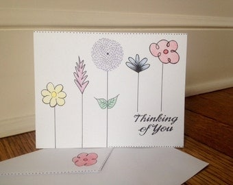 5 Spring Thinking of You Cards