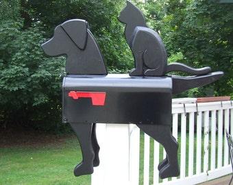 Black Dog & Cat Mailbox Banksville79 Exclusive