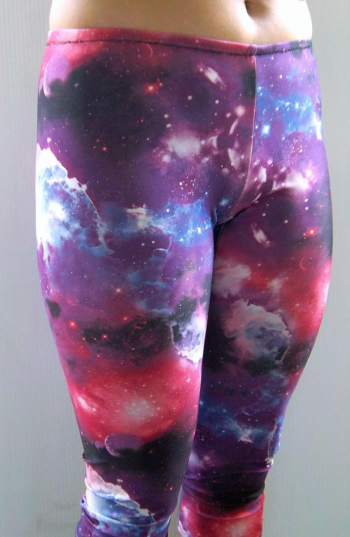 Galaxy Leggings Printed Leggings Yoga Pants Running Pants