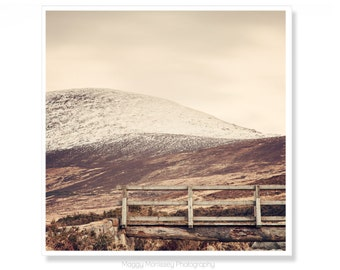 Irish Mountains Nature Phtography Made In Ireland Photography Large Wall Art