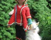Peruvian approximately 1970 folk doll