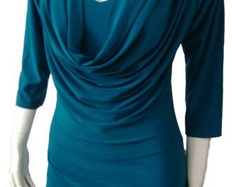 Winter Scoop Breastfeeding Nursing Maternity Dress