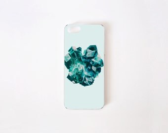 iPhone 5/5s Case - iPhone SE Case - Dioptase iPhone Case - iPhone 5s case - iPhone 5 case - Hard Plastic or Rubber