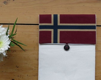 Sale 50% OFF, Case for Ipad 2 Ipad 3 New Ipad - Padded Ipad sleeve - water resistant - NorwayFlag, Back to School