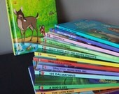 14 Vintage Childrens Disney Books Instant Collection Nursery Decor