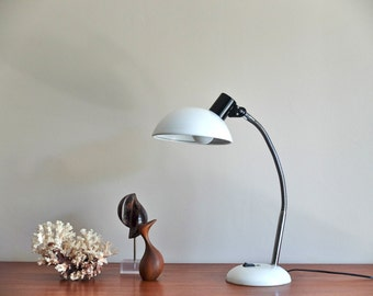 French Industrial Large Adjustable SARLAM Desk Lamp / Task Light / Workshop Lamp / Loft / Factory, 1970s