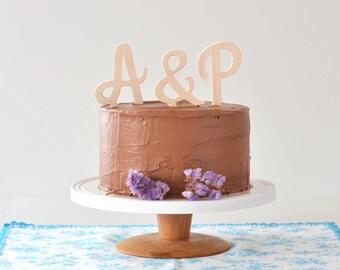 Initials name custom cake topper 3 letters