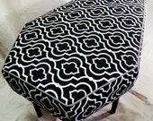 Custom Upholstered Coffin Bench