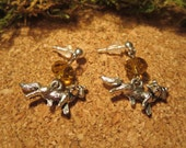 Silver Fox Earrings - Bal...
