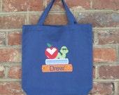 Personalized Preschool Tote Bag