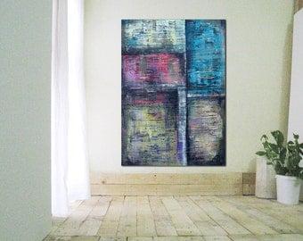 Large Vertical Wall Art art canvas painting wall art modern abstract art modern