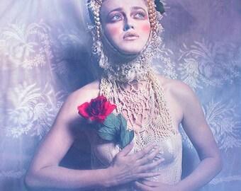 "Postcard photography art ""Russian spring"""