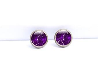 Scorpio Earrings - Zodiac Earrings - Scorpio Earrings Studs (SE2)