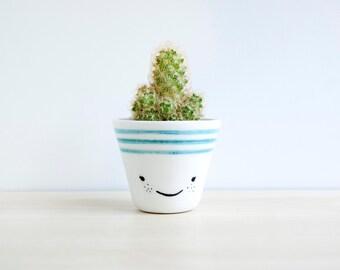 Ceramic succulent planter, Ceramic planter, Succulent planter, Ceramics & pottery, Flower plant pot, Ceramic plant pot, Ceramic planters,