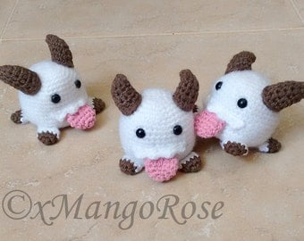 League of Legends Poro Plush Amigurumi Toy (Crochet Pattern, Digital Download), Video Games, Gamer, Geek Gifts, Gift