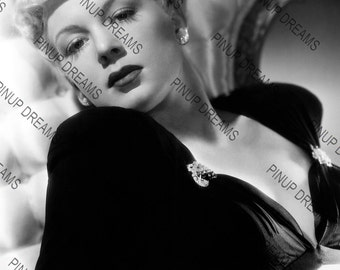 """Betty Hutton Wall Art Print of The Hollywood Movie Legend Vintage A4 (11.7"""" x 8.3"""")"""