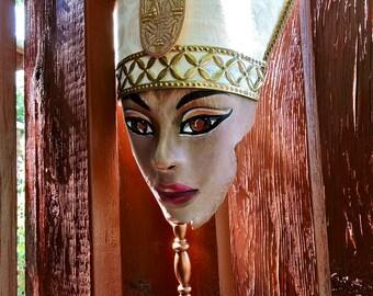 Queen Nefertiti Egyptian Mask