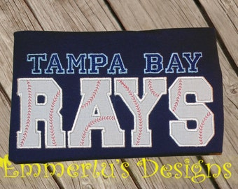 Tampa Bay Rays Baseball Shirt or Bodysuit