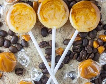 Caramel Latte Lollipop x 5 Wedding Birthday Party Favour