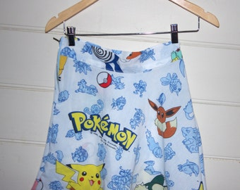 90s Pokemon Skater Skirt